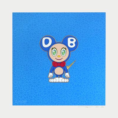 Takashi Murakami, 'Blue Light DOB', 2020