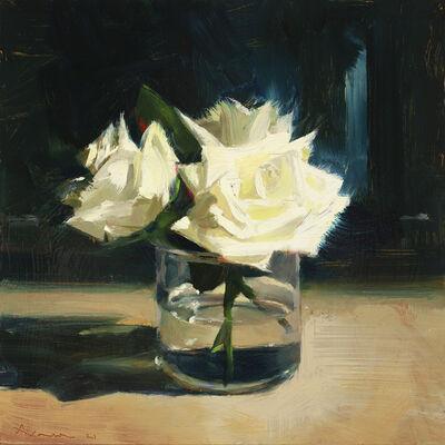 Ben Aronson, 'White Roses', 2021