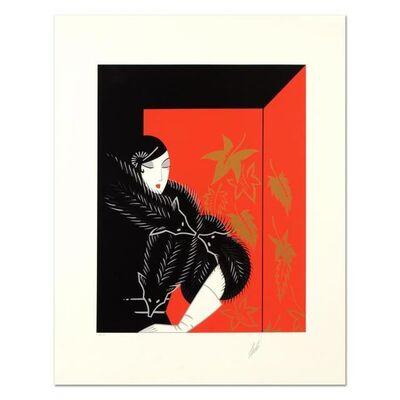 Erté, 'Furs', 1970-1990