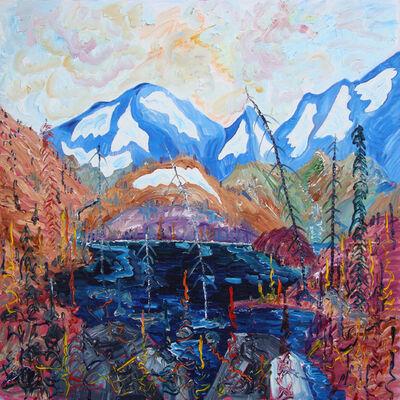 Alex Cameron, 'Rockies Melt Lake (Looking South)'