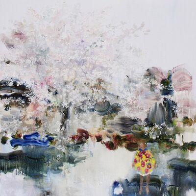 Darlene Cole, 'Lake (spring poncho)', 2019
