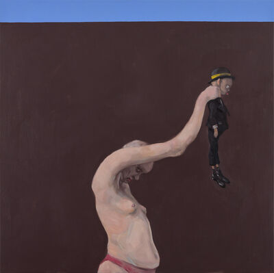 Michael Kvium, 'Handheld', 2018