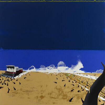 Chou Tai-Chun, 'Globe Silent 024 - The Rice Paddy on Nuclear Energy', 2012