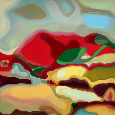 Sandy Litchfield, 'Red Mountain', 2021