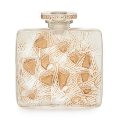Lalique, 'Hirondelles perfume bottle, France, M p. 332 no. 503', des. 1920