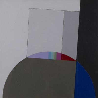 Eugenio Carmi, 'Quadrato Con Grigi', 1988