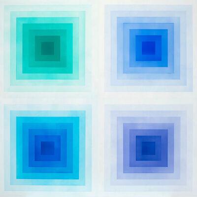 Marie Lannoo, 'SPECTRUM - BLUE', 2017