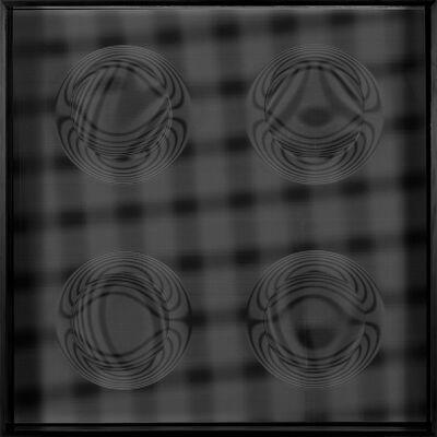 Hector Ramirez, '4 Esferas Estelares (Negro) ', 2015