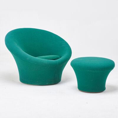 Pierre Paulin (1927-2009), 'Mushroom chair, model 560 and ottoman', 1970s