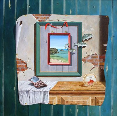 Jan van den Brink, 'Still life over the sea...', ca. 2012