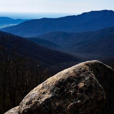 Brian Freer, 'Boulder, Shenandoah National Park', 2021