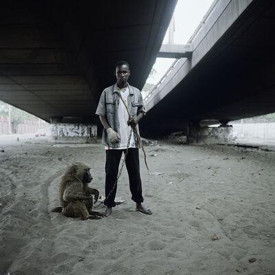 Pieter Hugo, 'Animal handler with Ajasco, Lagos, Nigeria', 2005