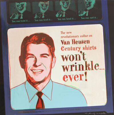 Andy Warhol, 'Van Heusen (Ronald Reagan) (FS II.356)', 1985