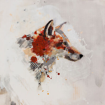 Samantha Walrod, 'Red Fox Portrait', 2016