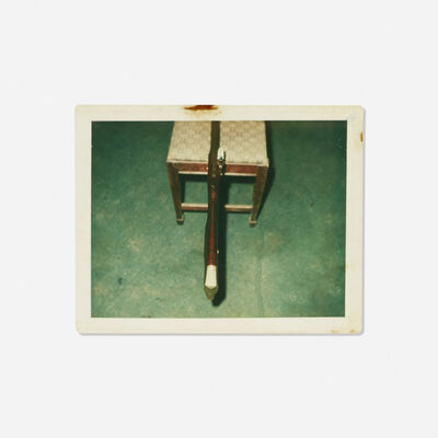 Andy Warhol, 'Untitled (Rifle on a Chair)'