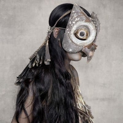 Fred Stichnoth, 'Young Woman with Owl Mask, Sunda Islands', 2013
