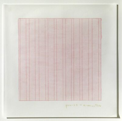 Agnes Martin, 'Praise ', 1976