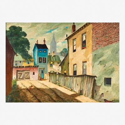Henry Martin Gasser, 'Backyard Playground'