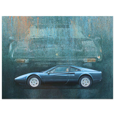 Simon Britnell, 'Ferrari 308GTB | Automotive | Car', 2018