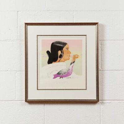 Joyce Wieland, 'Sorosiluto, Artist of Cape Dorset', 1979