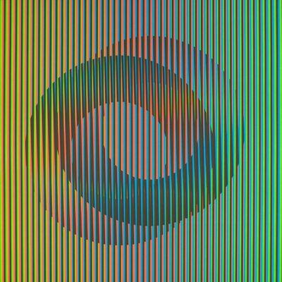 Carlos Cruz-Diez, 'Jueves', 2013
