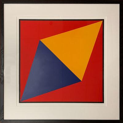 Charles Hinman, 'Orange Triangle', 2012