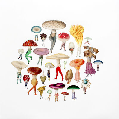Amy Ross, 'Mushroom Patch', 2017