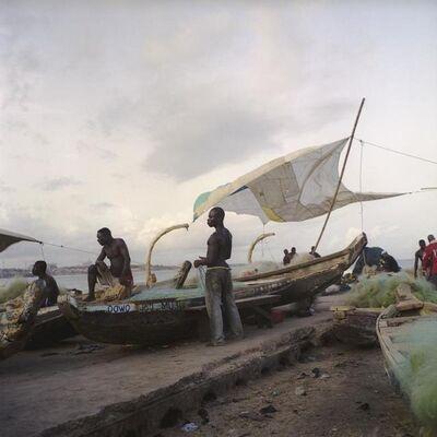Denis Dailleux, 'La voile à James Town, Ghana', 2009