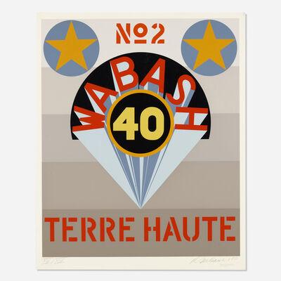 Robert Indiana, 'Terre Haute No. 2 (from Decade)', 1971