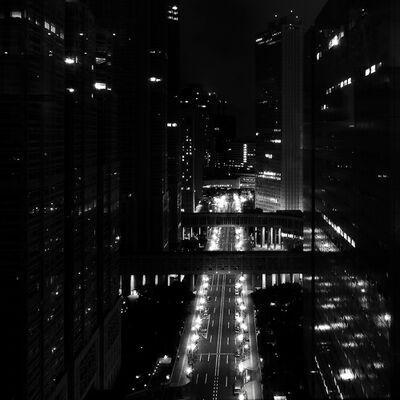 Stefano Orazzini, 'Tokyo Night through a Glass', 2010