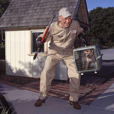 John Waters, 'Self-portrait #5 (Dog Catcher)', 2012