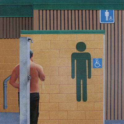 Steve Mennie, 'Untitled (Water-closet)', 2021