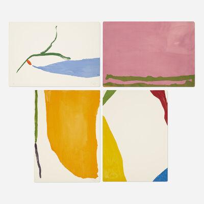Helen Frankenthaler, 'Four Pochoirs portfolio', 1970