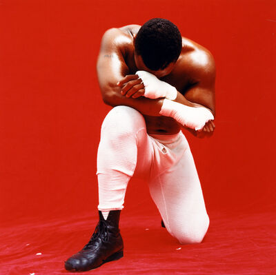 Michel Comte, 'Mike Tyson', 1990