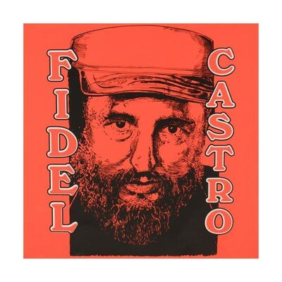 Steve Kaufman, 'Fidel Castro', 1980-2010