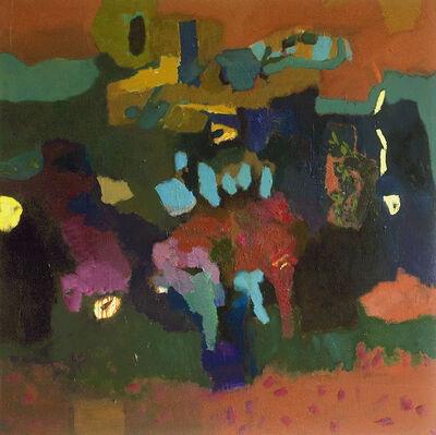 Jennifer Hornyak, 'Thunder Blue with Tulip Shapes', 2018