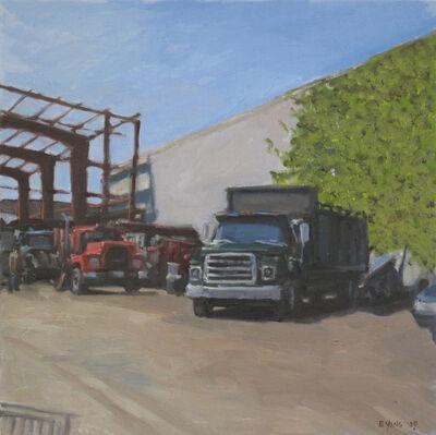 Ella Yang, 'Green Truck in Yard', 2009