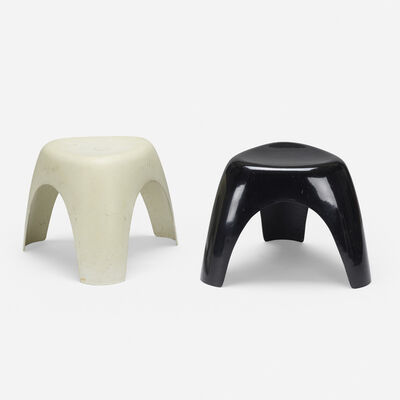 Sori Yanagi, 'Elephant stools, set of two', 1954