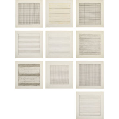Agnes Martin, 'Paintings and Drawings 1974-1990', 1991