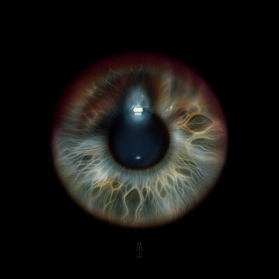 Peter Maier, 'Eye 1', 2019