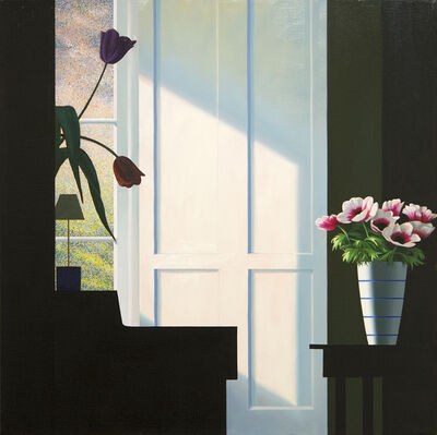 Bruce Cohen, 'Untitled, Interior with Lit Anemones and Tulips in the Shadow', 21st Century