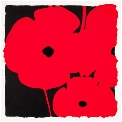 Donald Sultan, 'Poppies (Red)', 2011