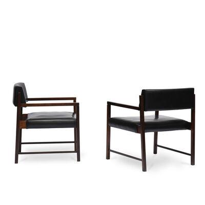 Jorge Zalszupin, 'Pair of Del Rey armchairs', ca. 1960s