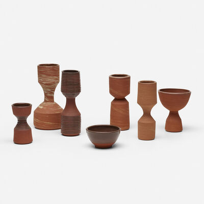 Ian McDonald, 'collection of seven vessels', 2010-2012