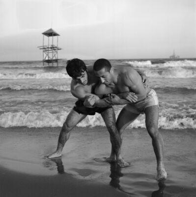 Valery Katsuba, 'Caspian Sea. Wrestlers', 2006