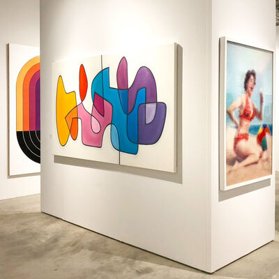 Lustre Contemporary at Palm Beach Modern + Contemporary  |  Art Wynwood, installation view