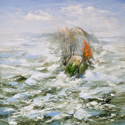 Réal Calder, 'Octobre sur la mer no.2', 2021