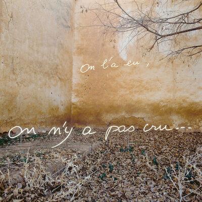 "Bernard Faucon, '""On l'a eu, on n'y a pas cru...""', 1992"