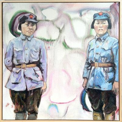 Hung Liu 刘虹, 'Women Warriors III', 2004