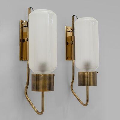 Luigi Caccia Dominioni, 'A pair of wall lamps  'LP 10' model', 1958